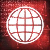 黑暗的互联网图标