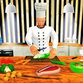 虚拟厨师烹饪游戏图标