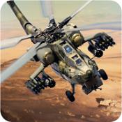 武装直升机战争图标