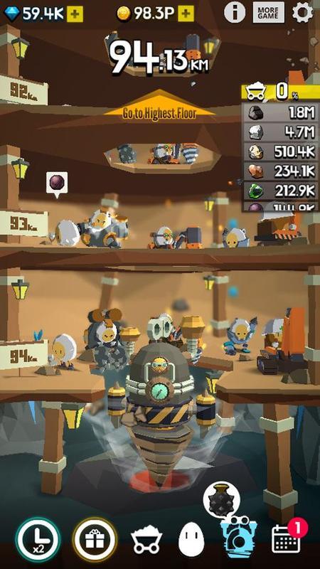 土地挖掘者无限金币版游戏截图