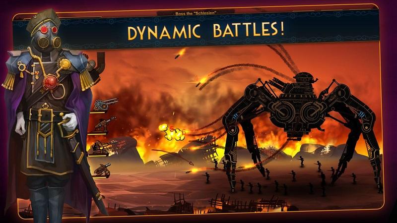 蒸汽朋克塔防2无限钻石版游戏截图