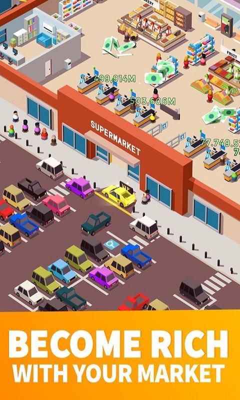闲置超市大亨修改版游戏截图