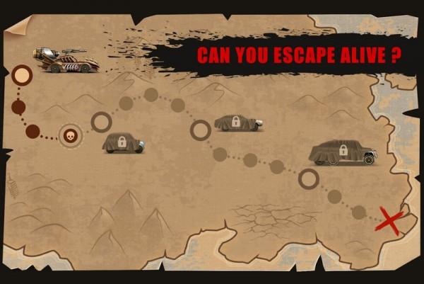 山地僵尸比赛游戏截图
