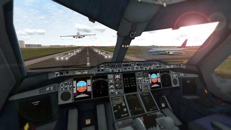 《真实飞行模拟器》手游