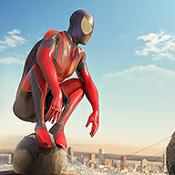 蜘蛛侠绳索英雄无限钞票版图标