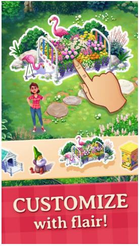 莉莉的花园宣传图片