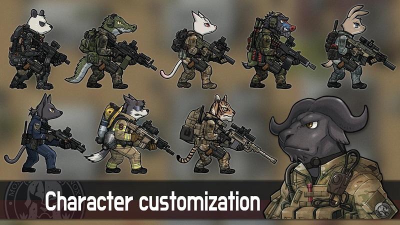 物种战争:灭绝无限金币钻石版游戏截图