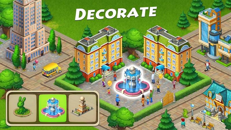 梦想小镇无限钞票版游戏截图
