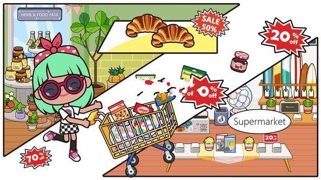 米加小镇商店游戏截图