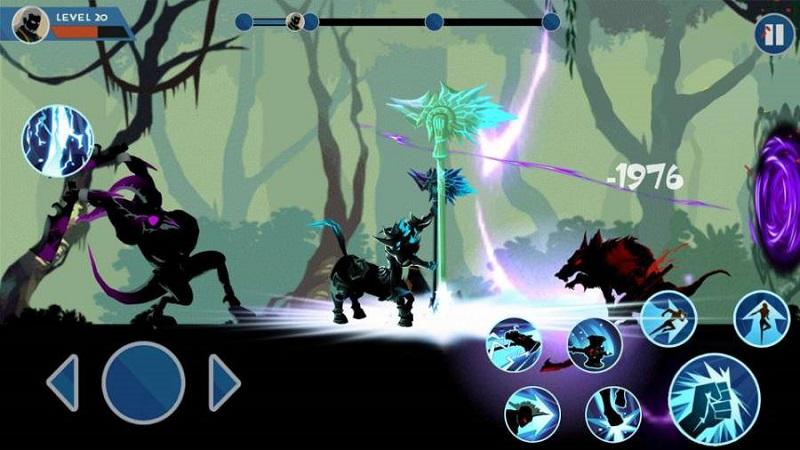 暗影战士无限钻石破解版游戏截图