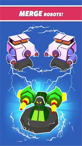 合并机器人塔防官方版游戏截图