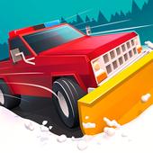 雪地清洁车图标