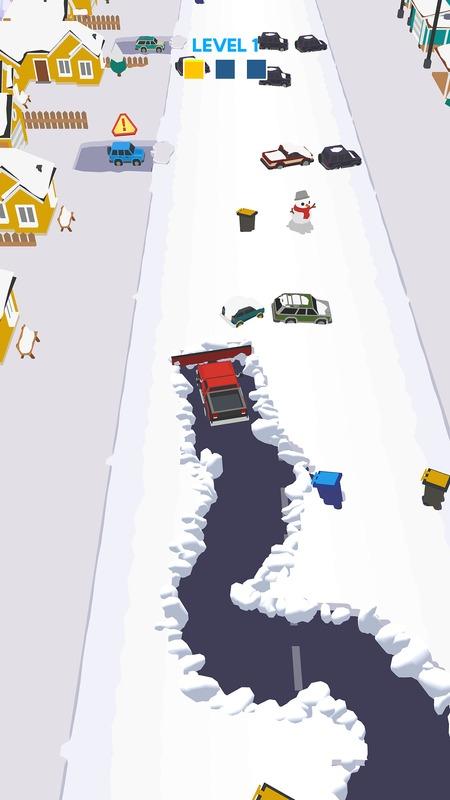 雪地清洁车无限金币版游戏截图