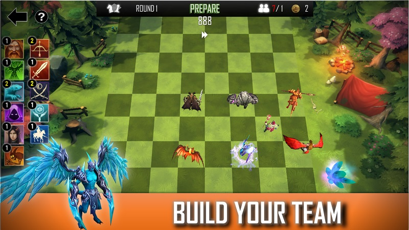 自走棋防御游戏截图
