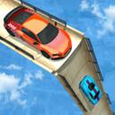 巨型坡道赛车不可能的赛道3D图标
