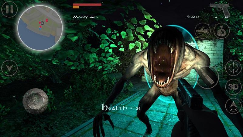 职业僵尸猎手2.5无限血量版游戏截图