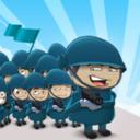 人群军队图标
