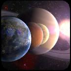 创造行星图标