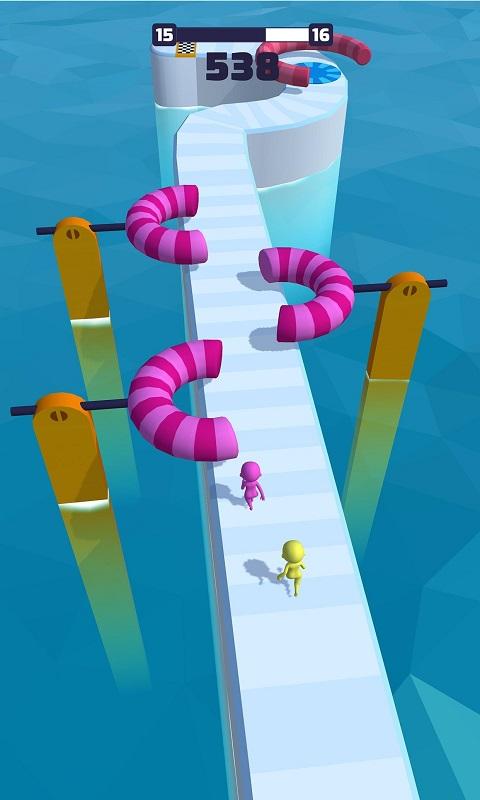 趣味竞赛3D无限金币破解版游戏截图