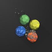 抖音碎石跳跃3D图标