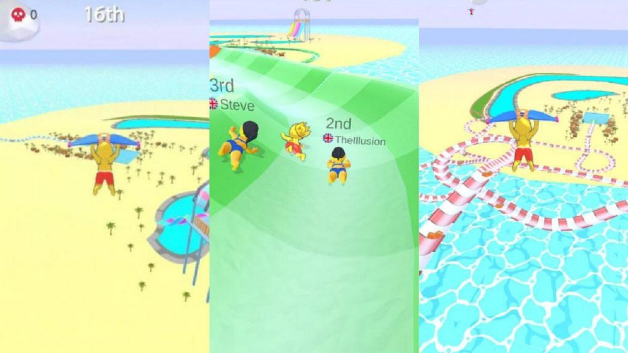 水上乐园滑行大赛游戏合集
