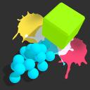 顏料球沖刺官方版圖標
