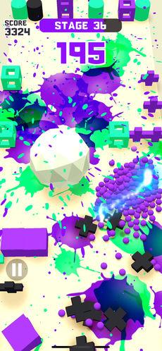 顏料球跑酷游戲截圖