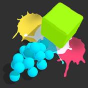 顏料球沖刺圖標