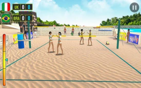 沙灘排球世界冠軍游戲截圖