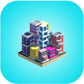 堆棧城市圖標