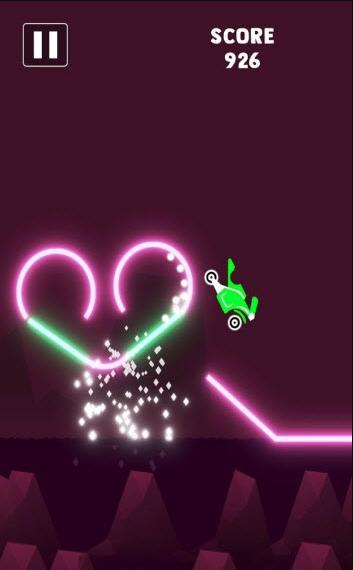 霓虹摩托骑士游戏截图
