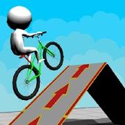 自行车比赛3D图标
