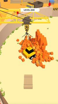 垃圾分类推土机游戏截图