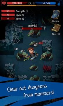 地牢命运无限金币破解版游戏截图