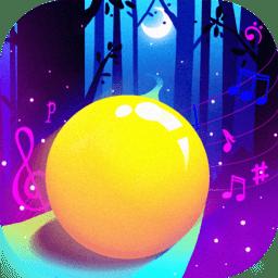 音乐球球跳跃3D图标