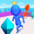 钻石竞赛3D图标
