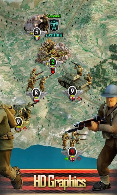 二战前线:西部前线宣传图片
