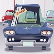 甜菜和皮特的汽车经销商图标