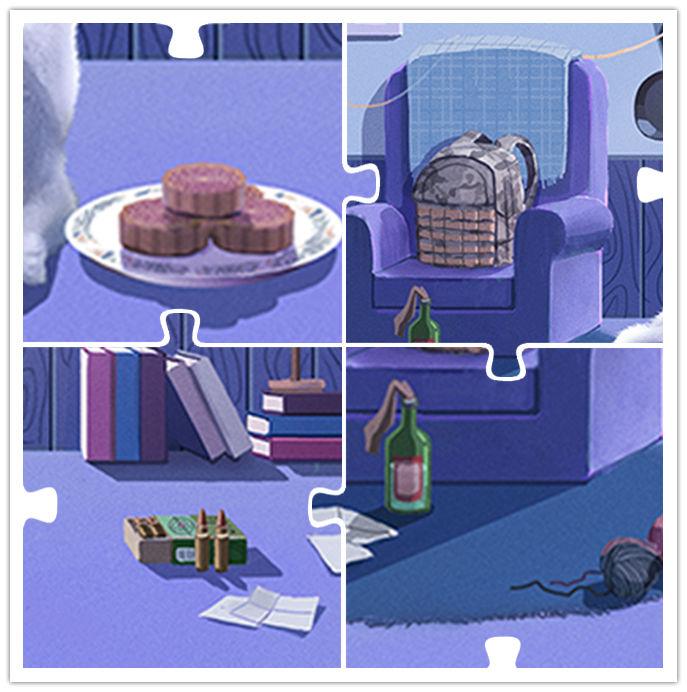 【和平精英】中秋福利到 寻找萌兔喂月饼,即可获取狂欢兔套装!