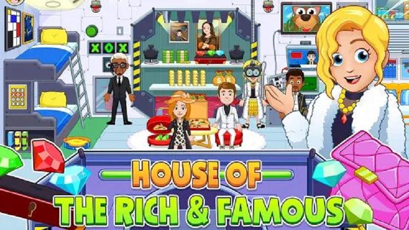 我的城市:豪宅破解版游戏截图