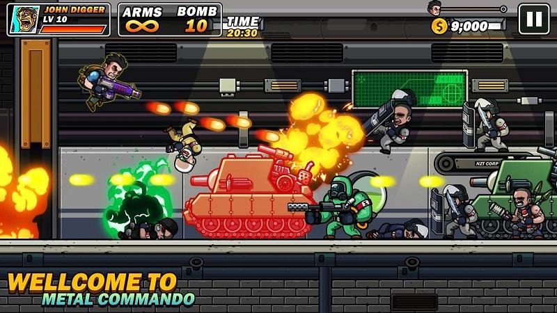 枪火兄弟无限金币版游戏截图