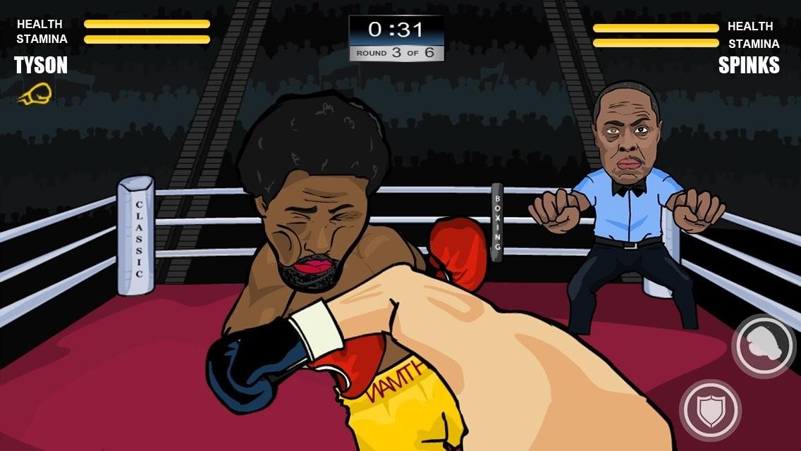 训练自己的拳击手游戏截图