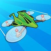 无人机竞速图标
