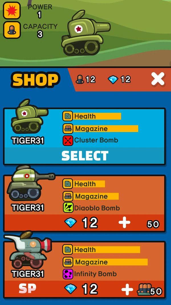 迷你坦克传奇游戏截图