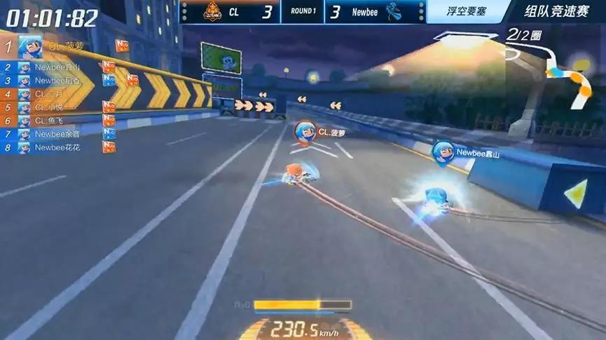 【跑跑卡丁车官方竞速版】常规赛第一周,Weibo战队战绩极佳,暂据积分榜第一