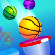 篮球比赛3D图标