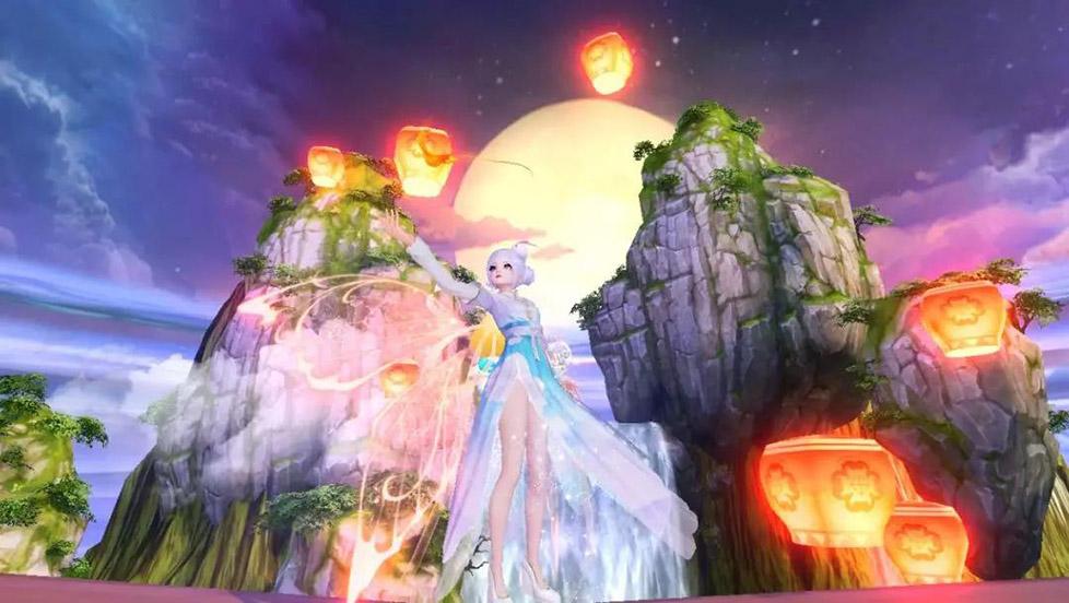 《天下》手游颜值UP新玩法!多彩羽翼照亮你的美!图标