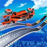 交通跳跃3D图标