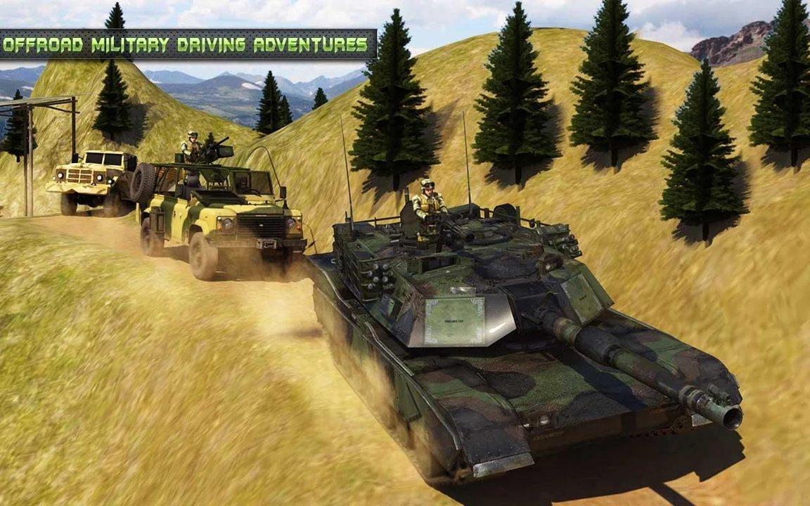 越野陆军运输车游戏截图