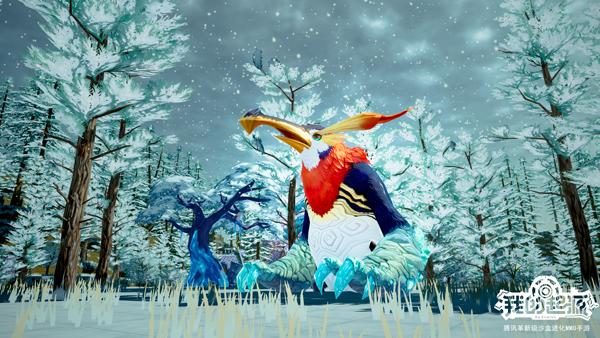 """《我的起源》神奇动物""""红颈企鹅王、雷神古树""""全新来到"""